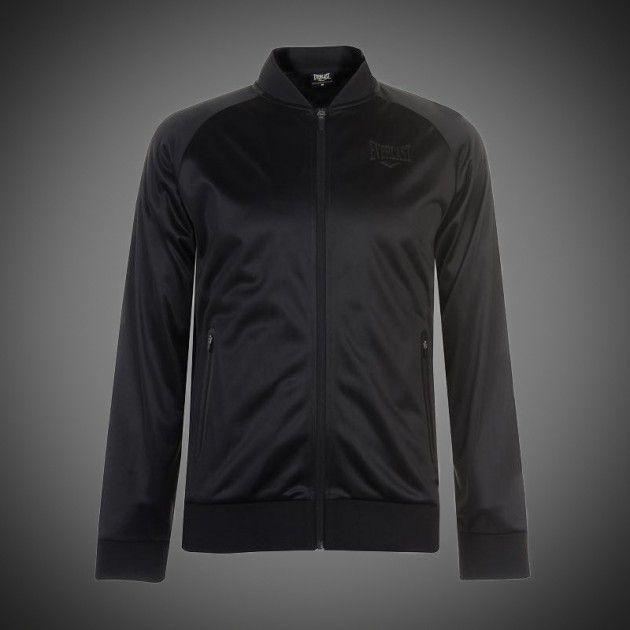 0861253bb29d Lehká pánská bunda Everlast Bomber black na zip. Dvě boční kapsy na zip.  Malé