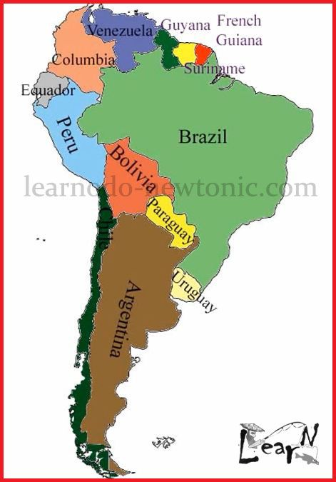 Learn the map of south america learning geography pinterest it is very easy to learn the map of south america provided you see the hidden crocodile in it watch this video and memorize the map of south america in no gumiabroncs Choice Image