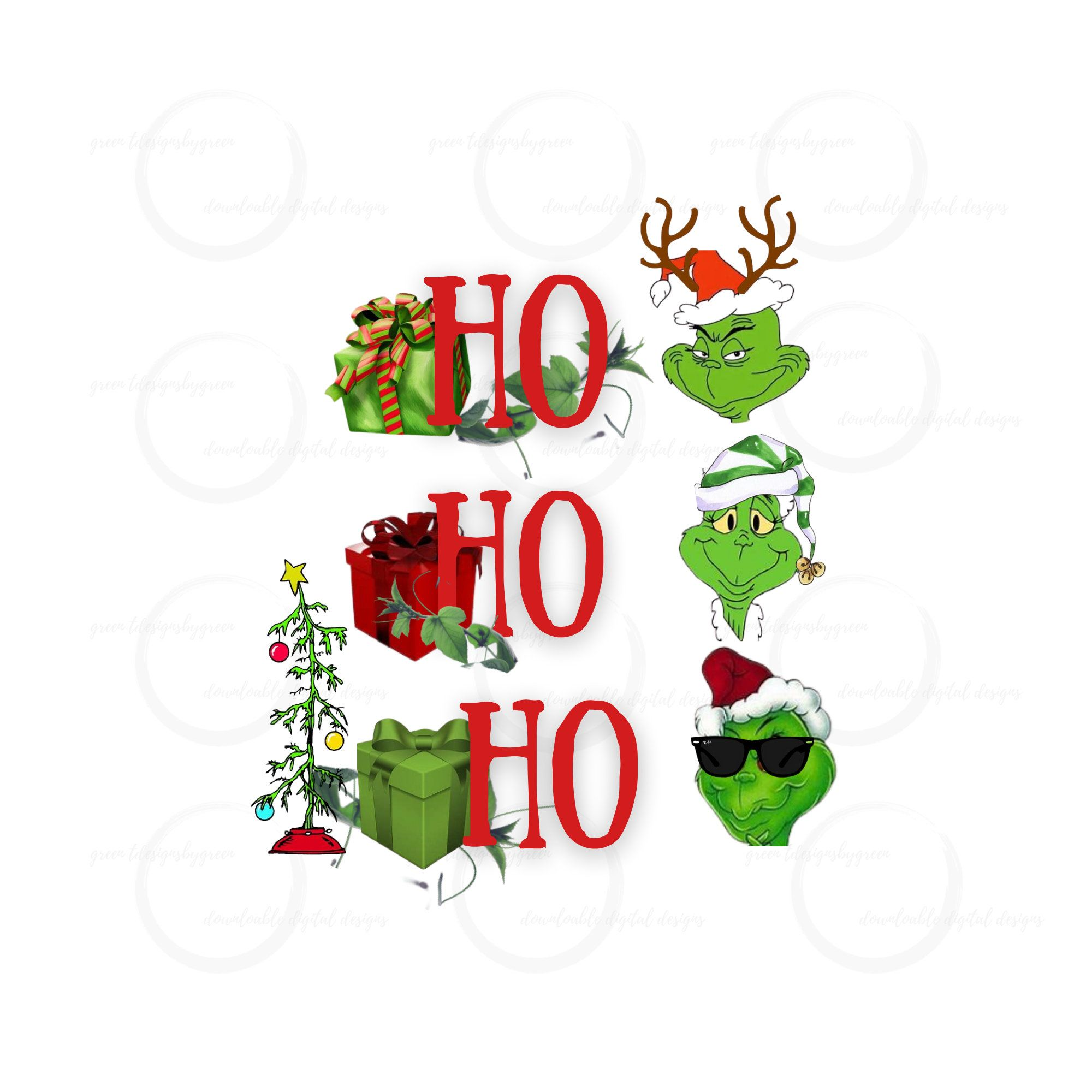 Grinch Christmas Png Featuring Three Grinch Faces Quote Reads Etsy In 2021 Grinch Christmas Grinch Png