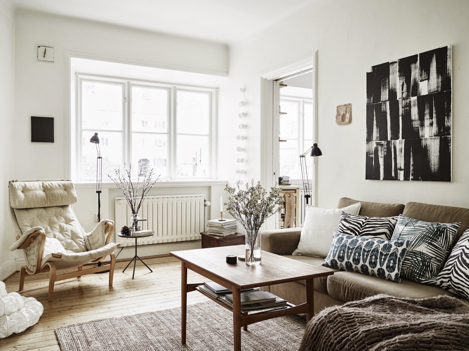 Silverkällan 1,Bright And Charming Swedish Apartment