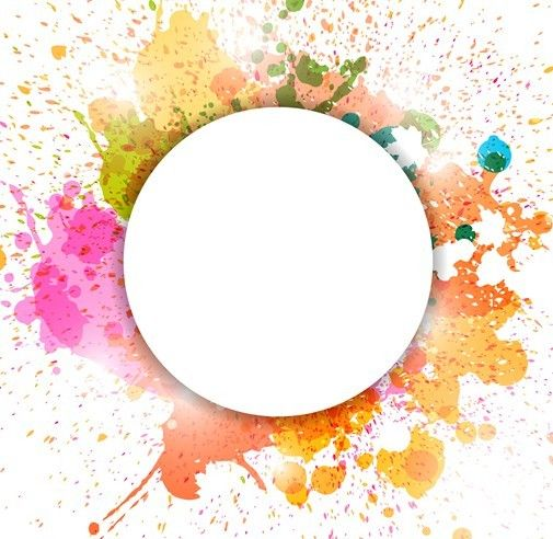 colorful paint splatter border - Поиск в Google | Patterns ...