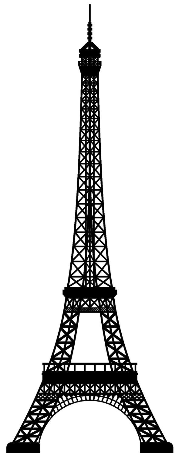 Awesome Eiffel Tower Coloring Printable Page For Kids Pages Of ...