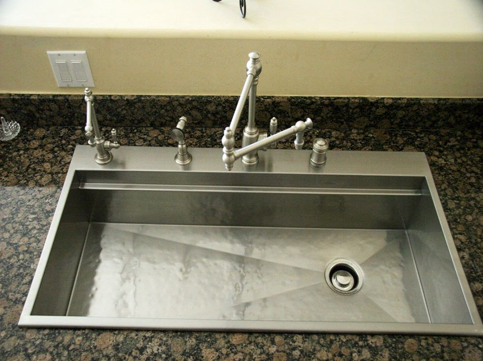 Rachiele Custom Stainless Steel Top Mount Replacement Sinks for ...