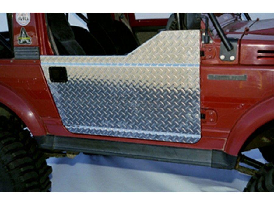 Samurai Warrior Diamond Plate And Steel Half Doors 3 Types Suzuki Samurai Best Car Insurance Half Doors