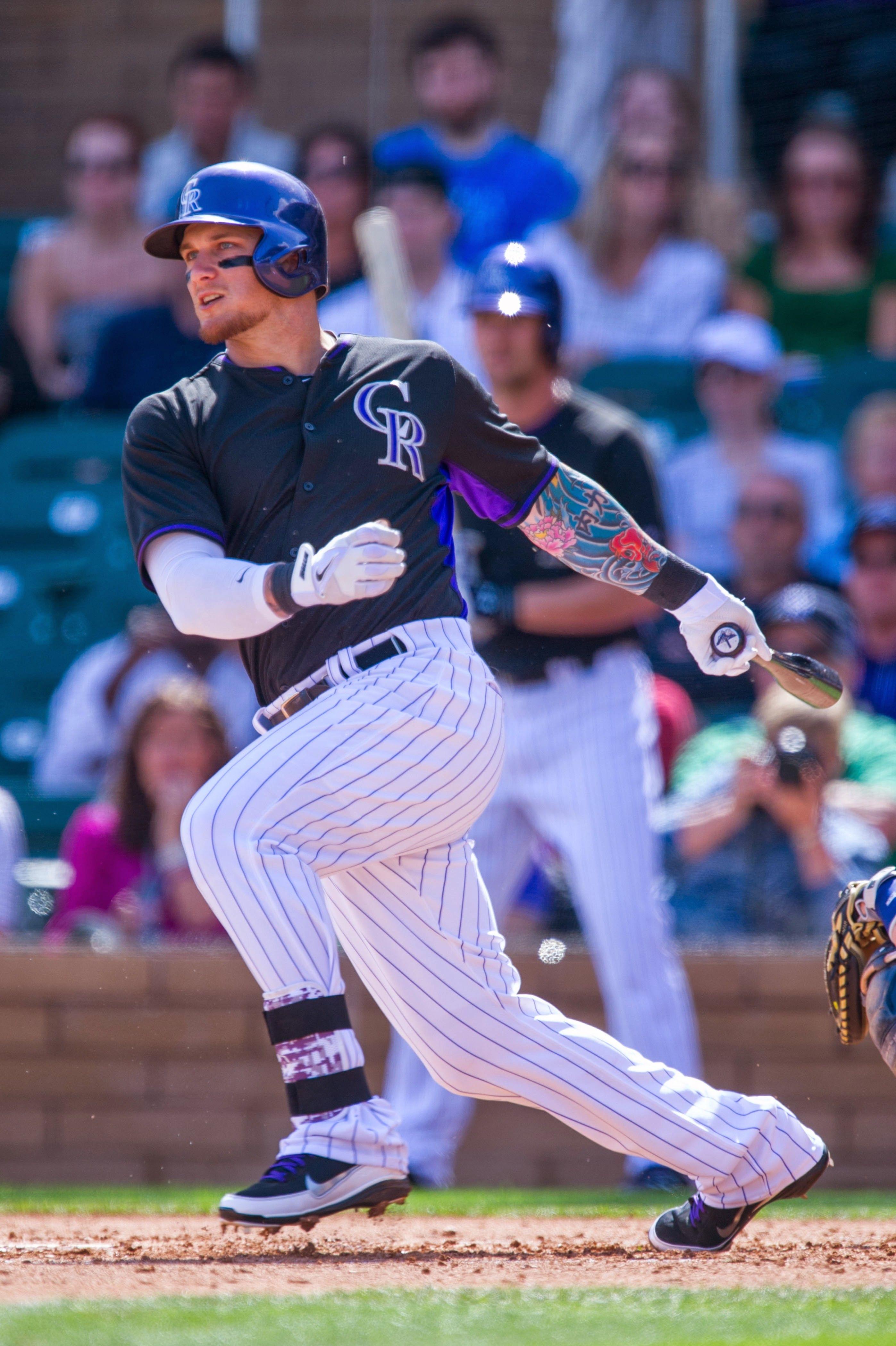 Brandon Barnes Baseball Boyfriend Colorado Rockies Baseball Rockies Baseball