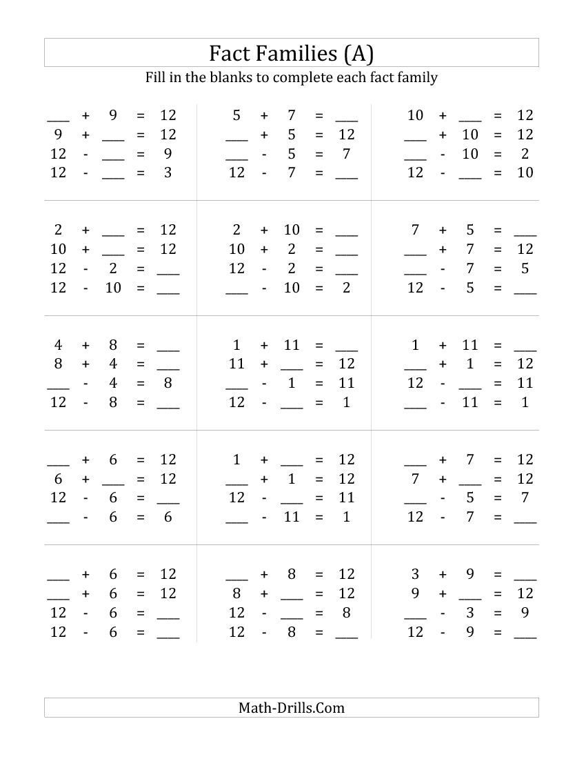 Math Problems Addition Subtraction Multiplication Division – Addition Subtraction and Multiplication Worksheets