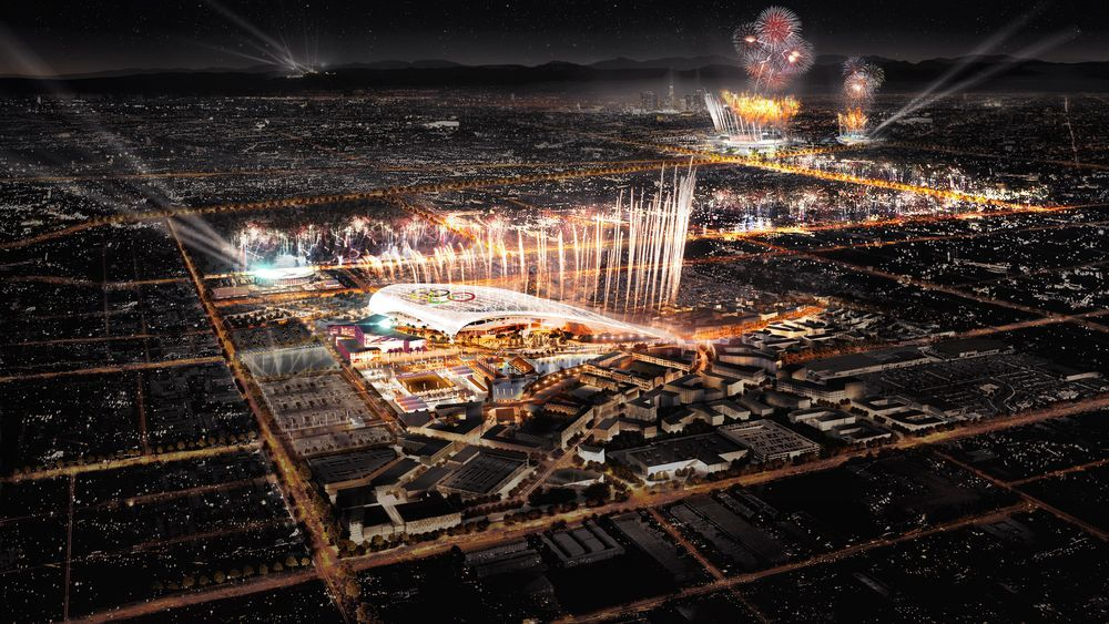 Here S Where La Would Hold Opening Ceremonies For The 2024 Olympics Olympics Olympic Games Los Angeles City