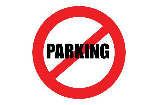 image relating to Printable No Parking Sign identified as Printable No Parking Indicator Crimson Caution No cost Down load PDF