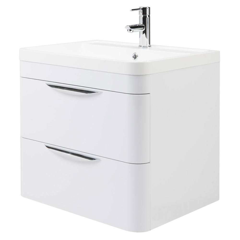 Premier Parade 2 Drawer Bathroom Vanity Unit