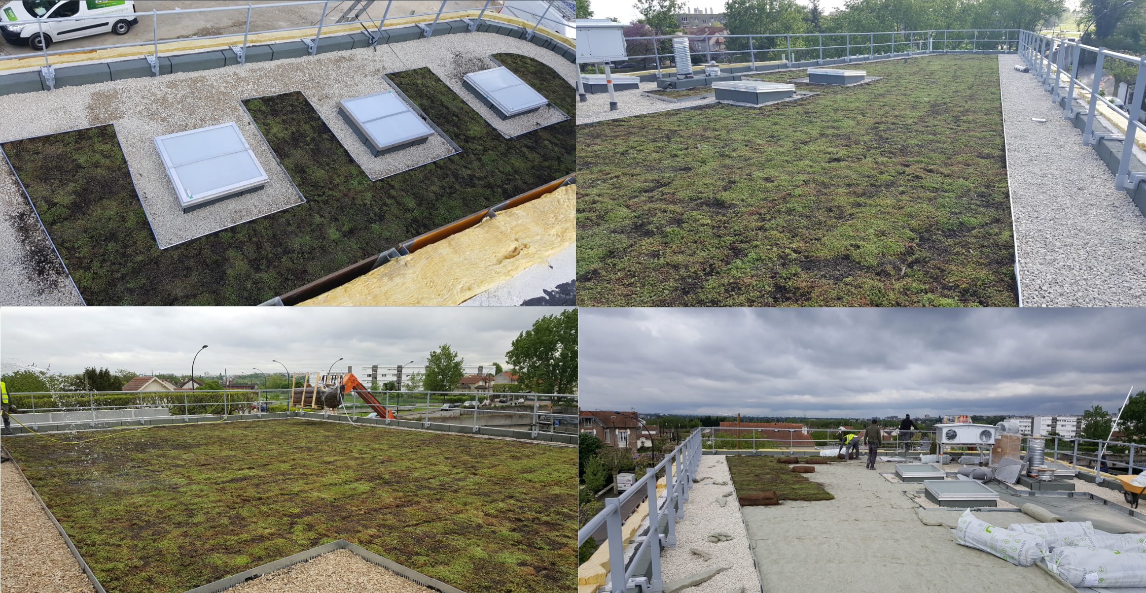 Sev Idf Location Of The Green Roof Champigny Size 300m Building Owner Conseil General Du Val De Marne Offices And Green Roof Architecture Green Design