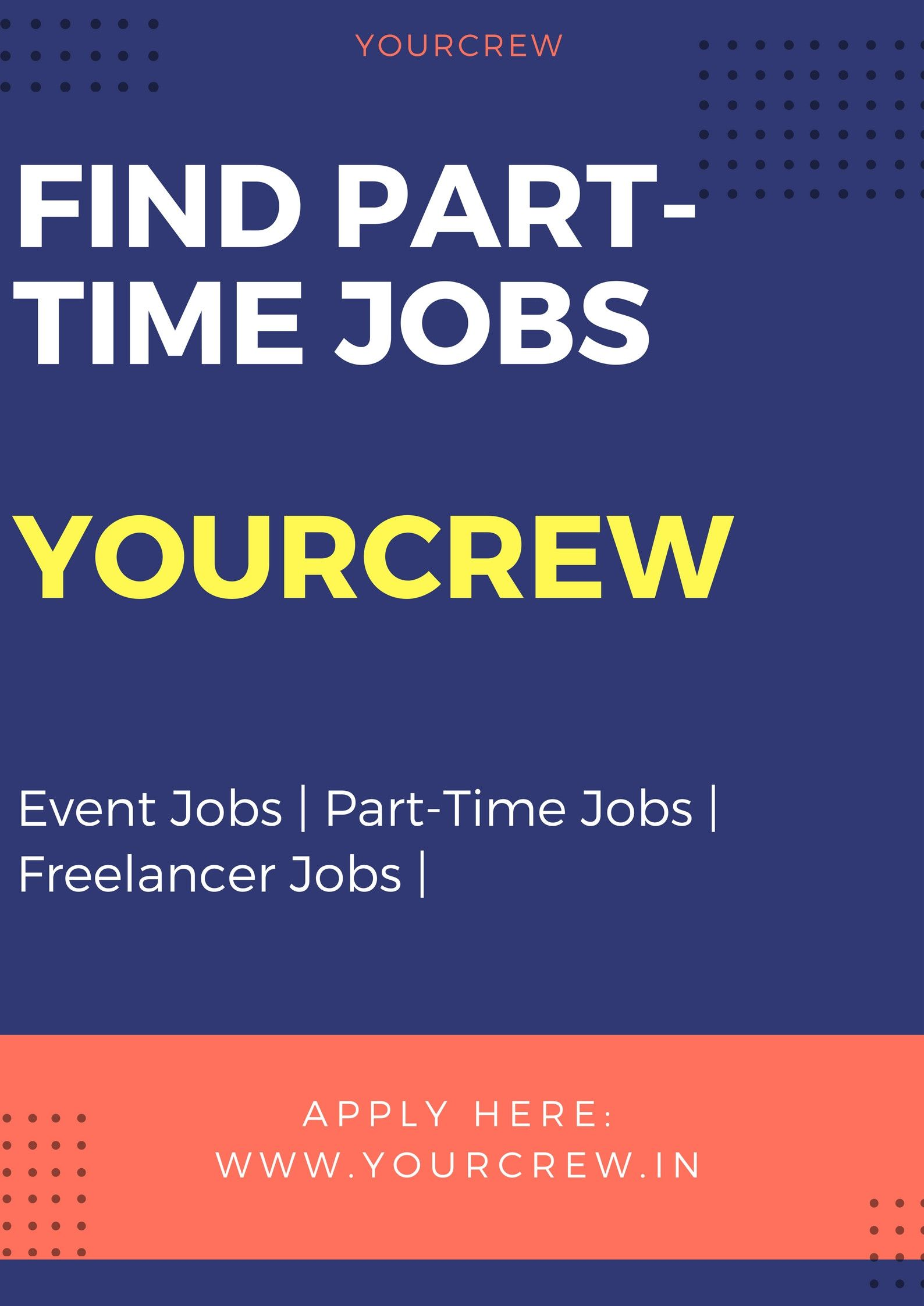Registration Part time jobs, List of jobs, Event company