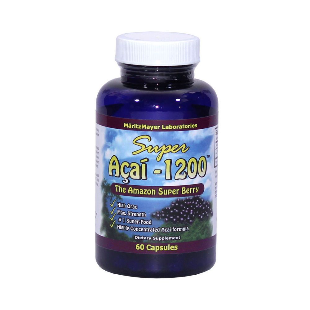 Acai Berry 1200 Weight Loss Slimming Diet Pills By Maritzmayer Labs