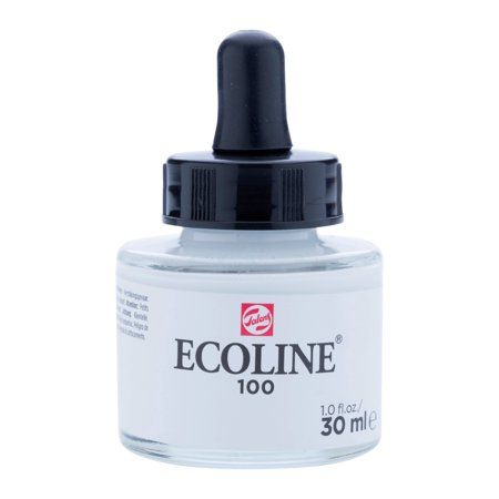 Ecoline Liquid Watercolour 30ml Jar White Products In 2019