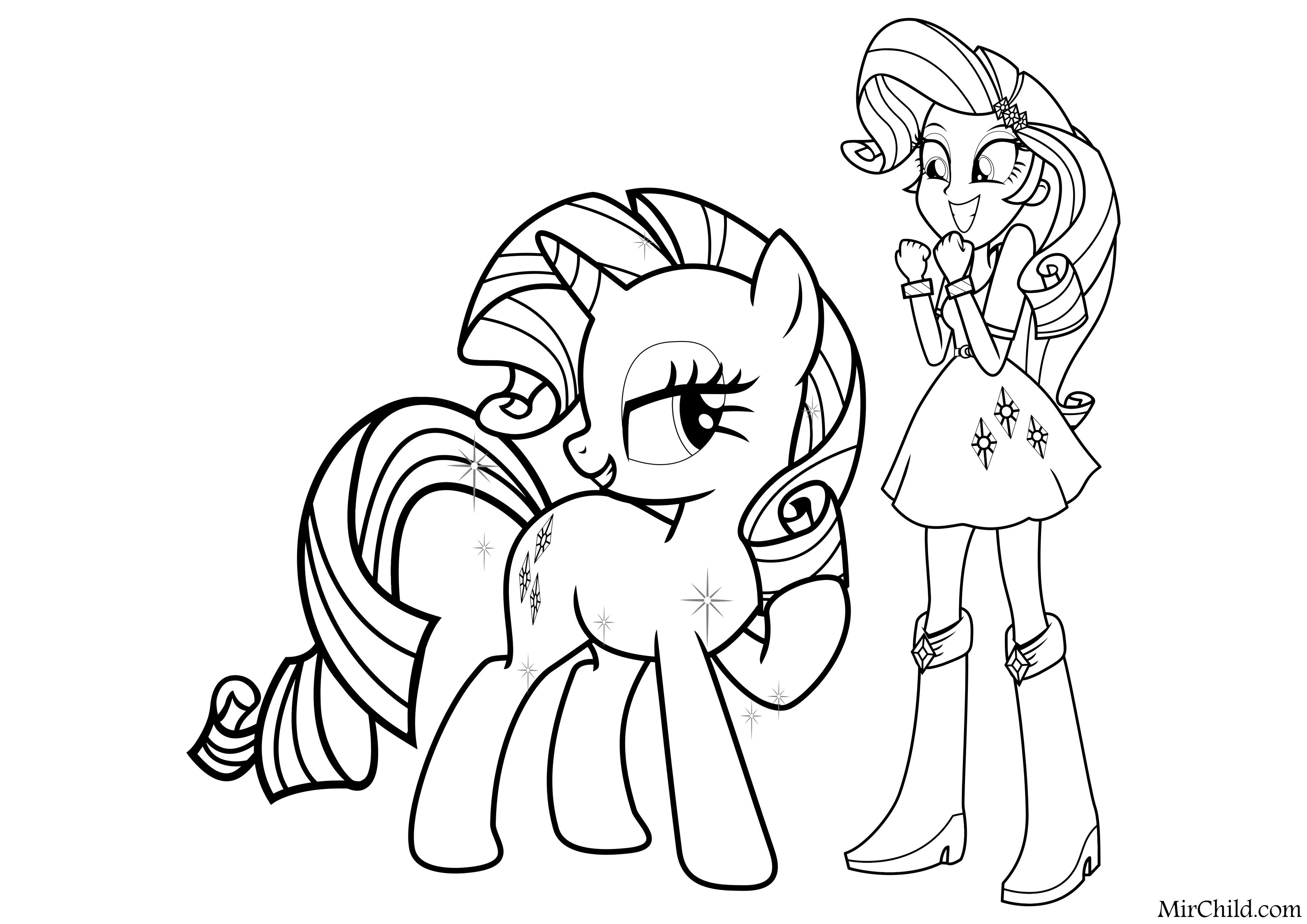 Pin By Hatice Kubra On Coloring My Little Pony Coloring My Little Pony Printable Cute Coloring Pages