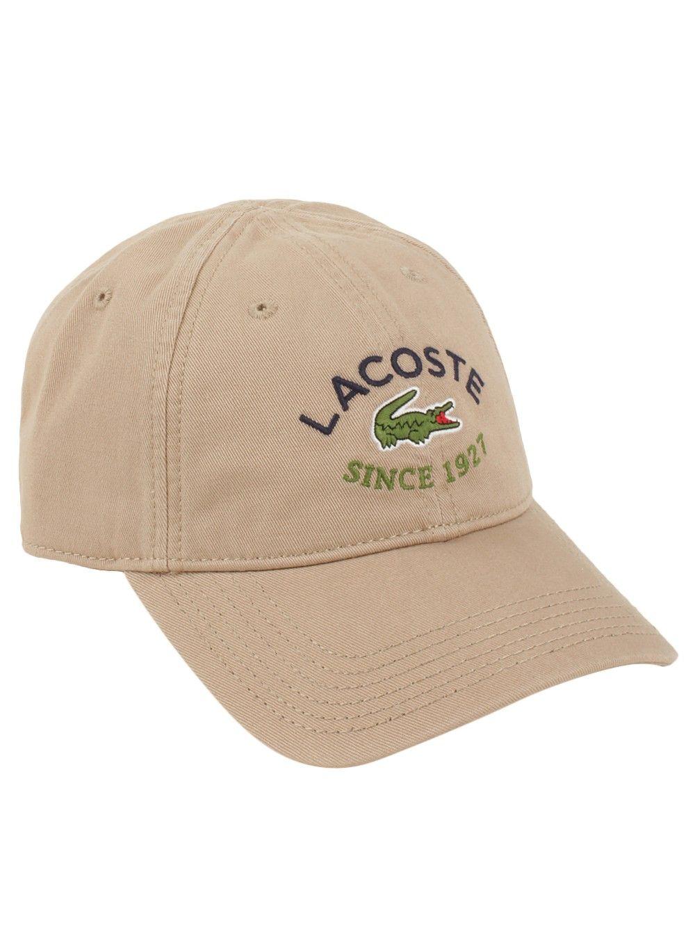 Lacoste® Men s Since 1927 Cap in Sahara Marine  a68826604c5