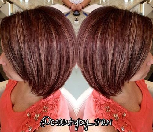 60 auburn hair colors to emphasize your individuality hair pinterest frisur ideen haar. Black Bedroom Furniture Sets. Home Design Ideas