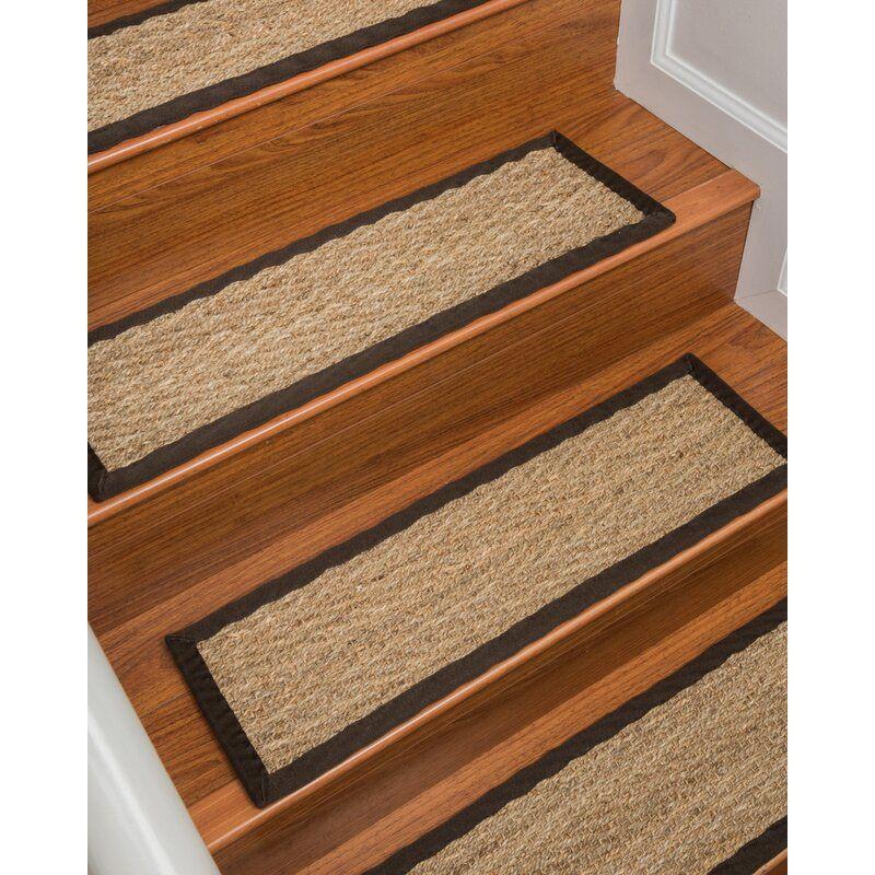 Best Lakendra Beach Seagrass Beige Stair Treads Stair Treads 640 x 480