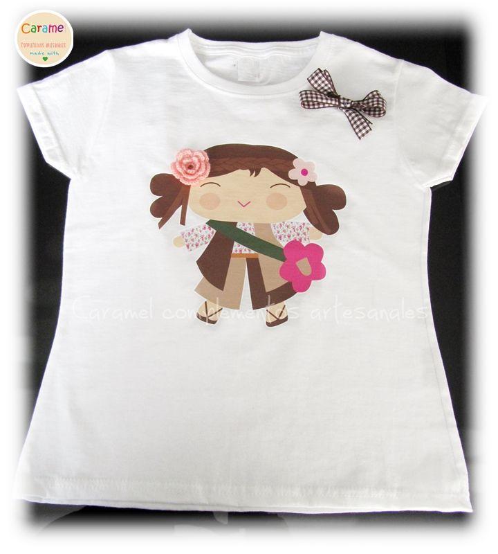 COLETEROS INFANTILES CARAMEL: Camisetas infantiles
