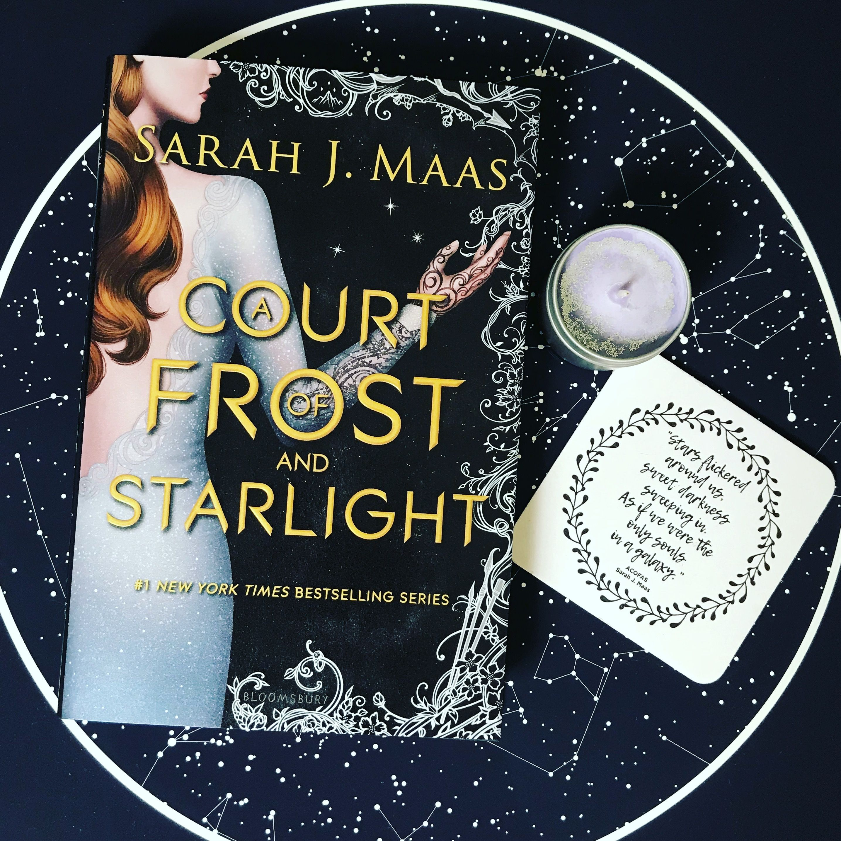 Review A Court Of Frost And Starlight Frost Sarah J Books