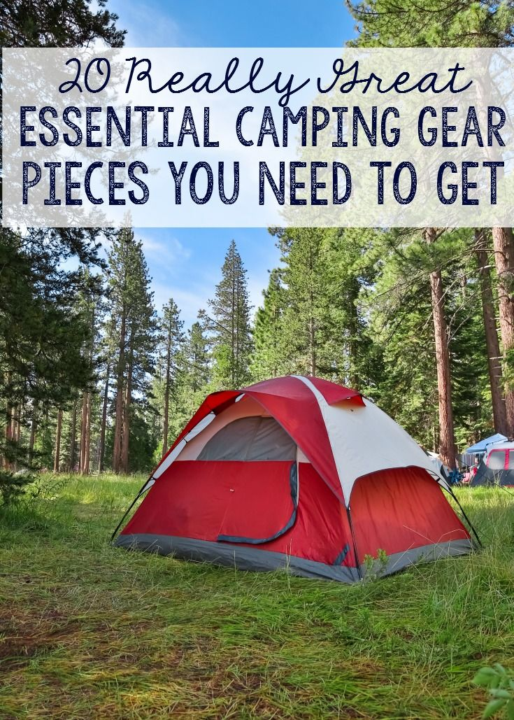 20 Awesome Camping Gear Essentials That You Need Before Head Out