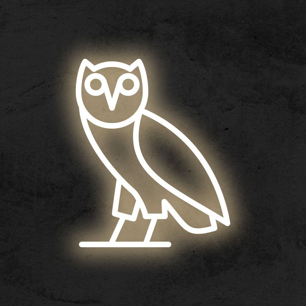 Ovo Neon Sign By Drake Neon Signs Drake Wallpapers Ovo Wallpaper