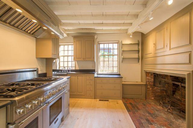 The Restoration Of An Eighteenth Century Home In Marblehead Mesmerizing Kitchen Design Massachusetts Design Decoration