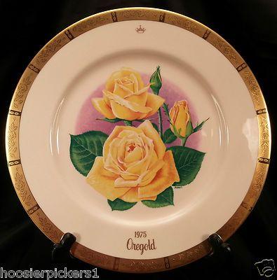 Vintage gorham bookout all america rose collector plateu2026 & Vintage gorham bookout all america rose collector plateu2026 | COLLECTOR ...
