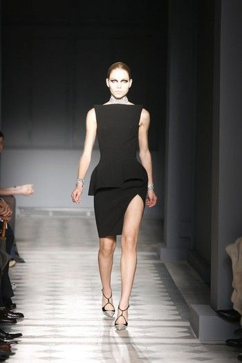 Aline Weber in Balenciaga, Fall 2008 Paris
