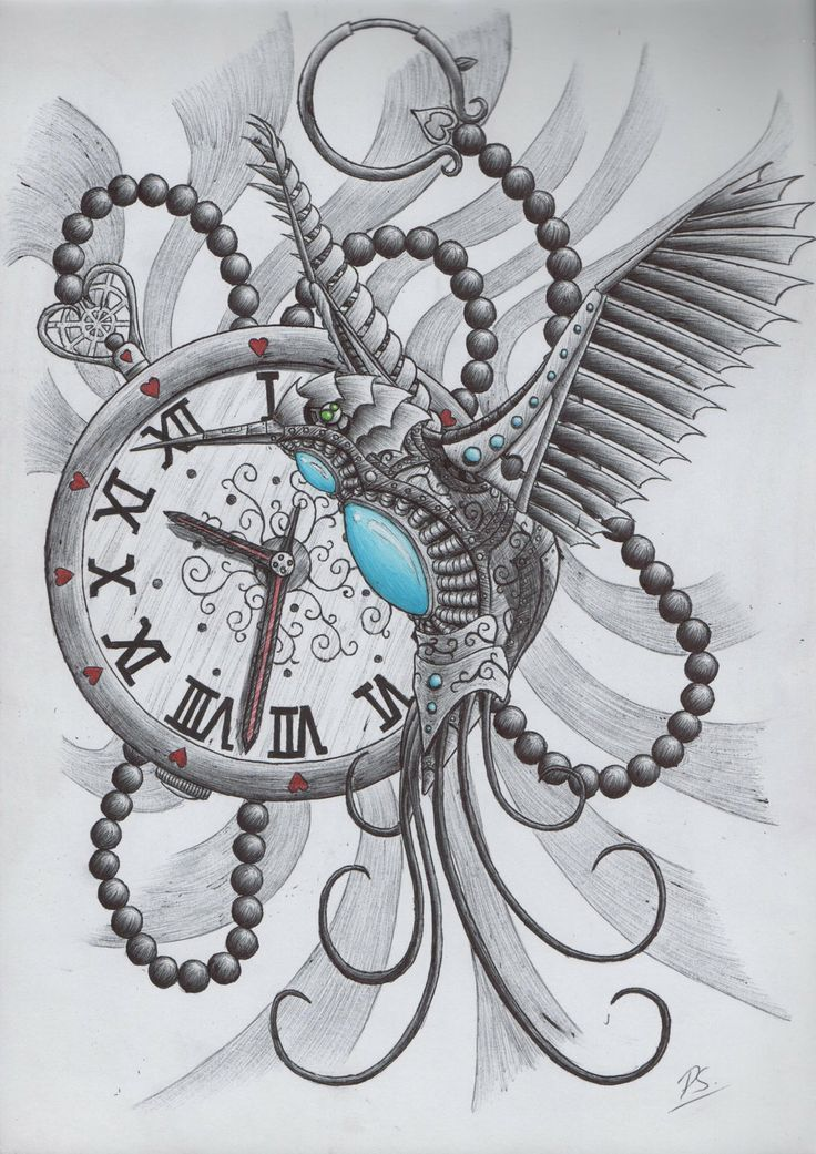 clock tattoo design on pinterest clock tattoos tattoos and tattoo