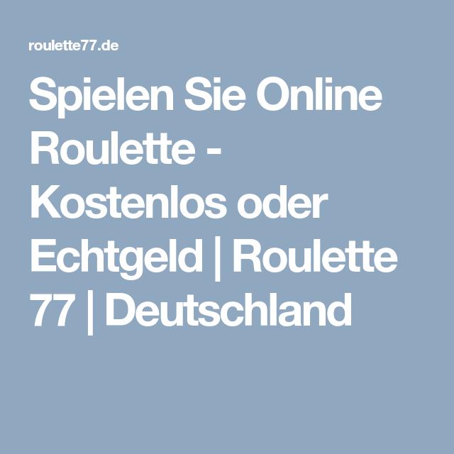 Roulette Kostenlos Deutschland