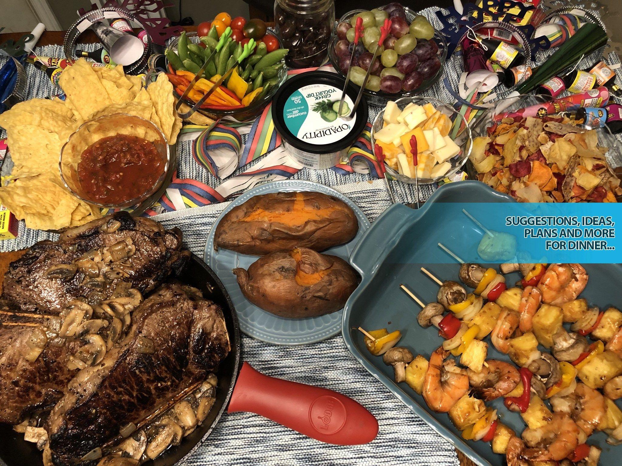 Shabbat Dinner Food 2020