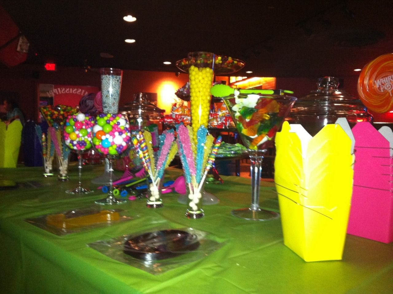 Candy Bar for 13 year old birthday party 13 year old