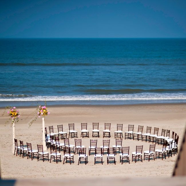 Beach Wedding Ceremony Ideas: Beach Ceremony // Photo By: Brooke Mayo Photography