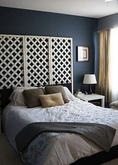 10 Diy Headboards For Your Dorm Room Lattice Headboard Diy Headboards Fence Headboard