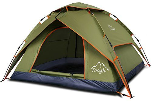 Toogh Waterproof 3 Season Tent for Person C&ing Tent/Backpacking  sc 1 st  Pinterest & Toogh 3 Person Camping Tent Backpacking Tents | My Favorite ...