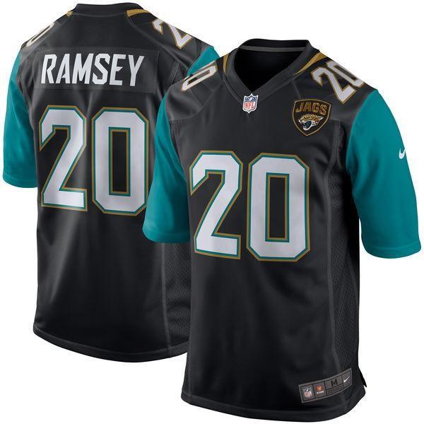 best loved f7239 a499a Men's Jacksonville Jaguars Jalen Ramsey Nike Black Game ...