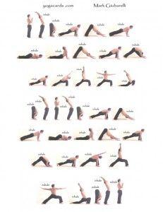 surya namaskara variation mark guibarelli  vinyasa yoga