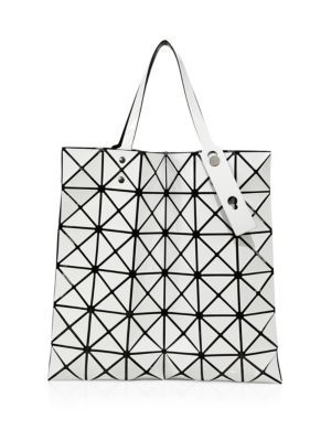 BAO BAO ISSEY MIYAKE Lucent Basic Faux Leather Tote.  baobaoisseymiyake   bags  leather  hand bags  polyester  nylon  tote   00d93faf22764
