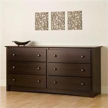 Walmart: Prepac EDC-6330 Fremont Collection 6 Drawer Dresser