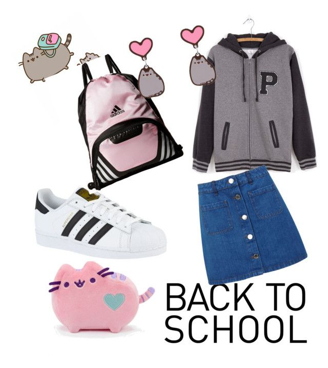 """""""#PVxPusheen"""" by silsil-7216 ❤ liked on Polyvore featuring Pusheen, Miss Selfridge, adidas, contestentry and PVxPusheen"""