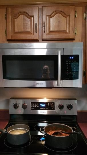 Over The Range Microwave In Stainless Steel Me16k3000as At Home Depot Mobile