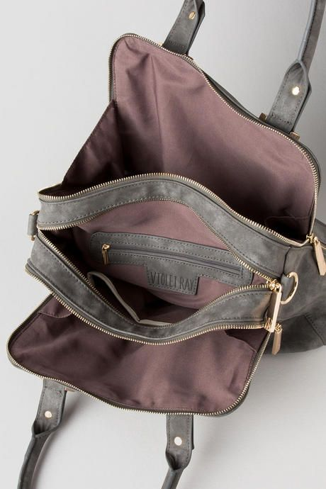 0be51e0c78 Violet Ray Triple Compartment Satchel francesca s