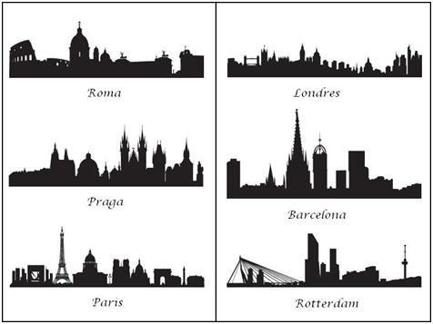 Vinilos ciudades jpg 476 357 dibujo pinterest dibujo for Vinilos pared ciudades