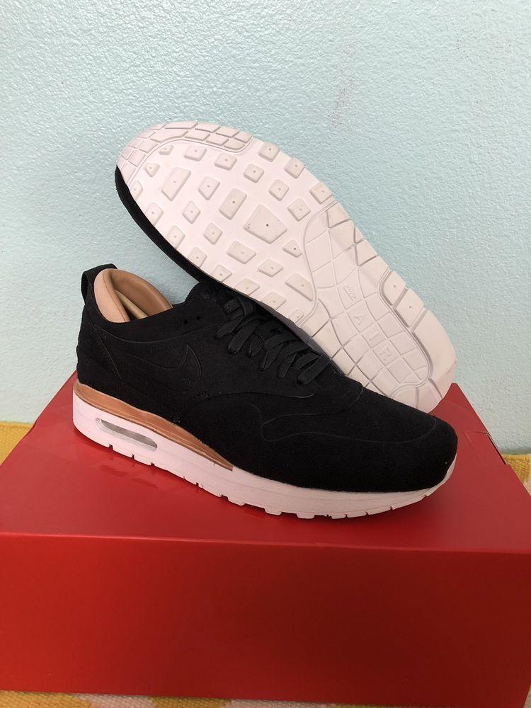 quality design 07c97 d1b04 New Nike Mens Air Max 1 Royal Suede Shoes 847671-001 sz 11 Black  fashion   clothing  shoes  accessories  mensshoes  athleticshoes (ebay link)