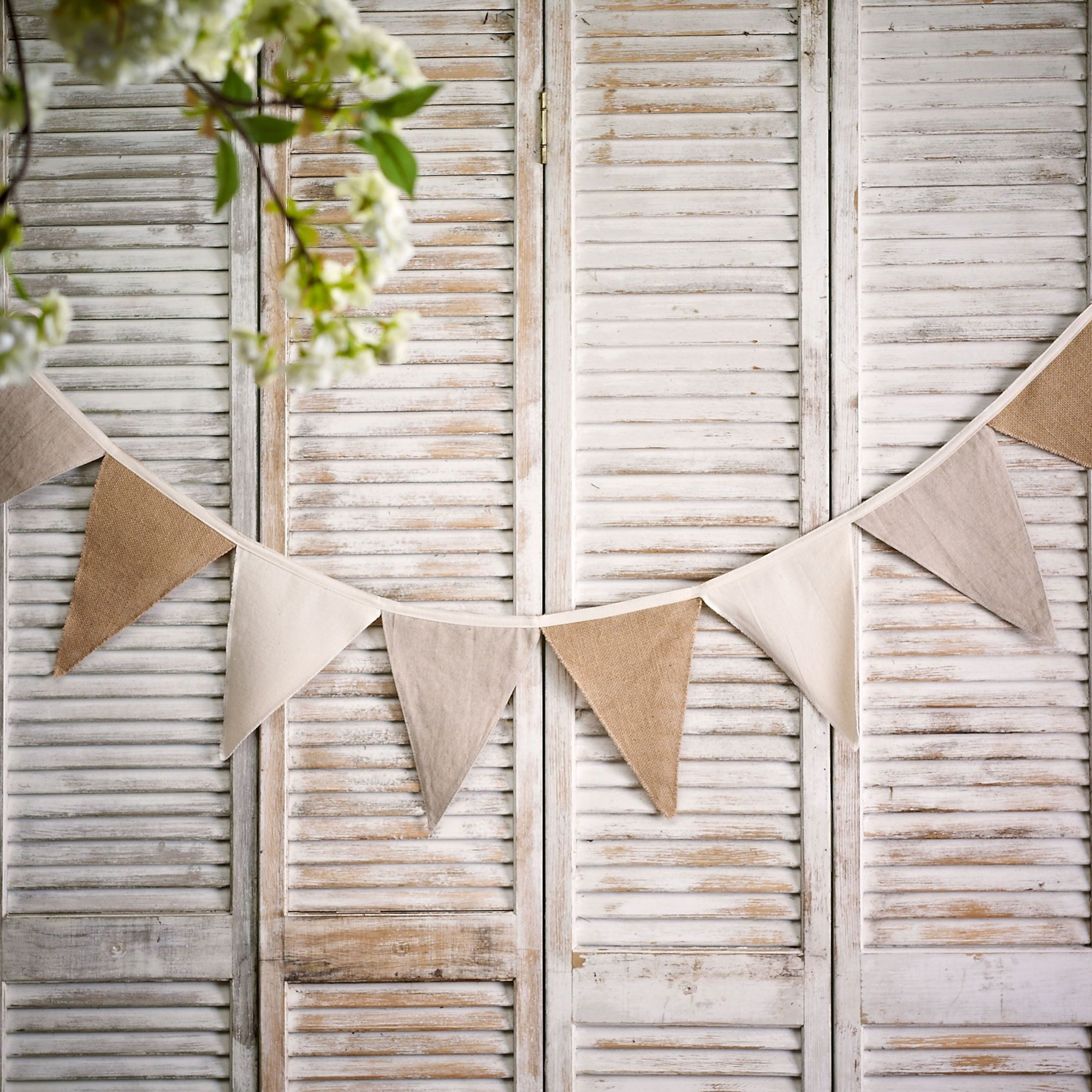 Diy Burlap Wedding Ideas: DIY Burlap Bunting Kit