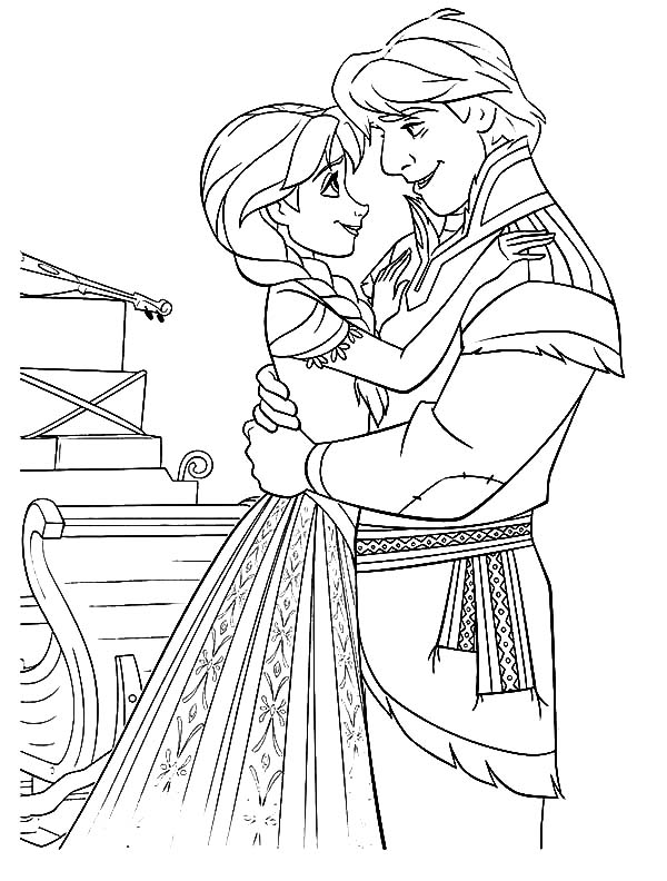 Kristoff Love Princess Anna Coloring Pages Download Print Online Coloring Pages For Free Color Nimbu Coloring Pages Online Coloring Pages Online Coloring