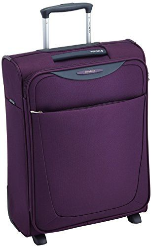 Samsonite Bagage Cabine Base Hits Upright 55 20 39 L Pourpre 59142 1717 Pourpre Bagage Valise