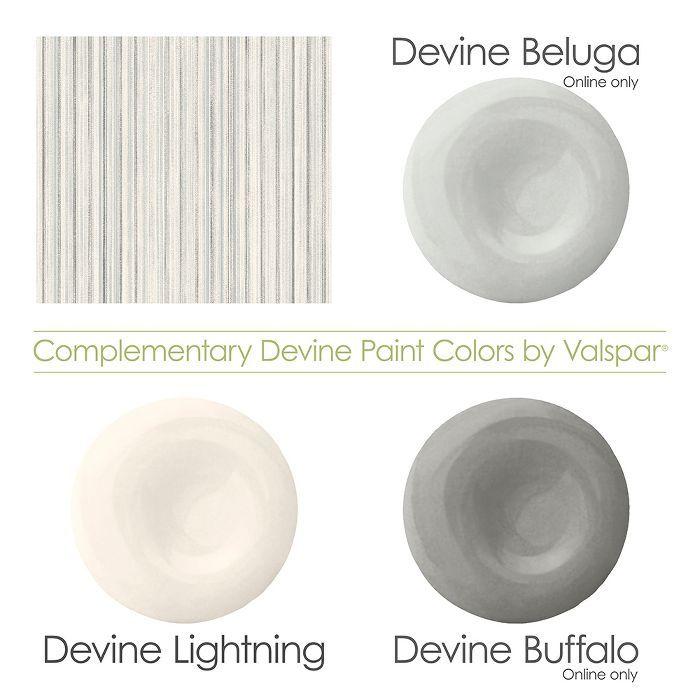 Devine Color Faded Stripe Lightning Beluga & Buffalo