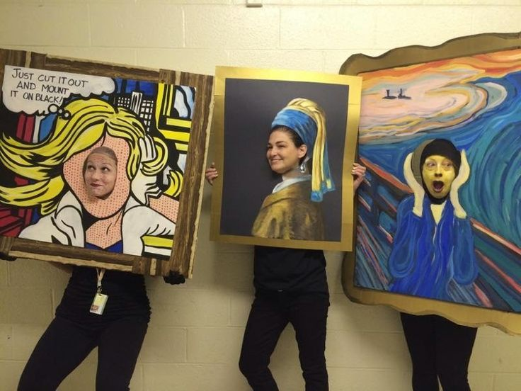 Art at Becker Middle School: Surrealist Collage Pattern Portraits ...