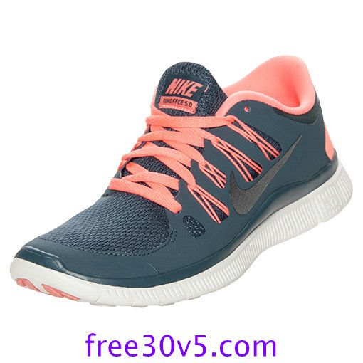 low priced de89e d067d 50% Off Nike Frees,Nike Free 5.0 Womens Dark Armory Blue Atomic Pink Summit  580591 446